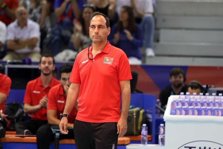 Hugo SIlva, selecionador português
