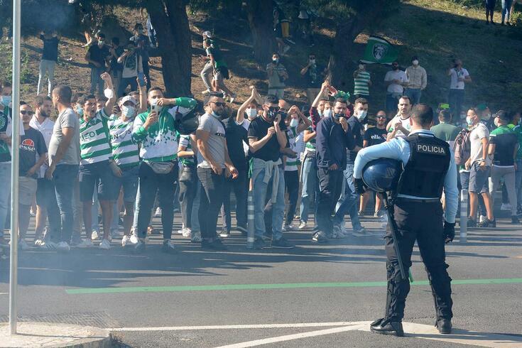 Lisboa, 04/05/2021 - Partida do Sporting para Vila do Conde, no Estádio de Alvalade em Lisboa.  ( Álvaro