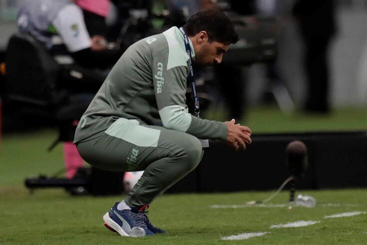 Abel Ferreira, treinador português do Palmeiras