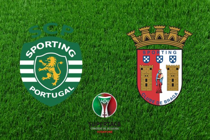 DIRETO SUPERTAÇA | Sporting-Braga