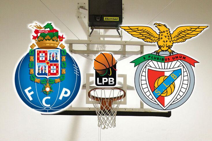 Ao minuto: clássico de basquetebol entre FC Porto e Benfica