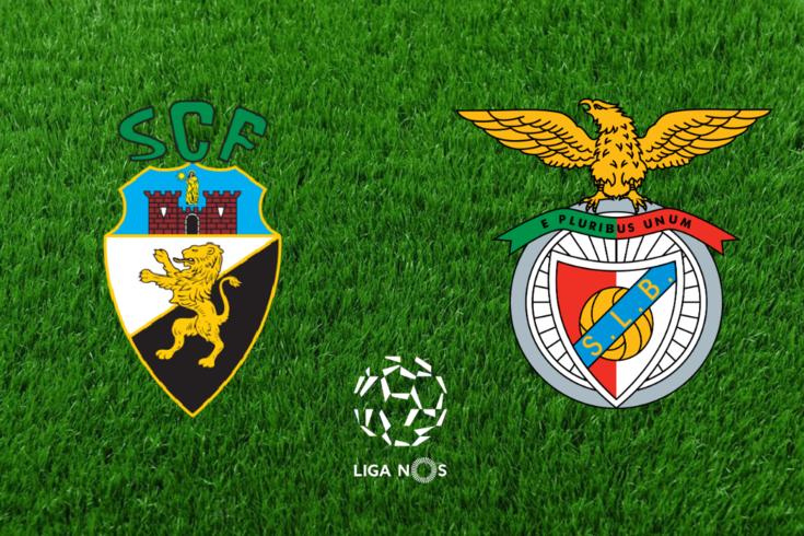 DIRETO   Farense-Benfica
