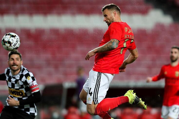 Seferovic já marcou 13 golos na Liga NOS em 2020/21