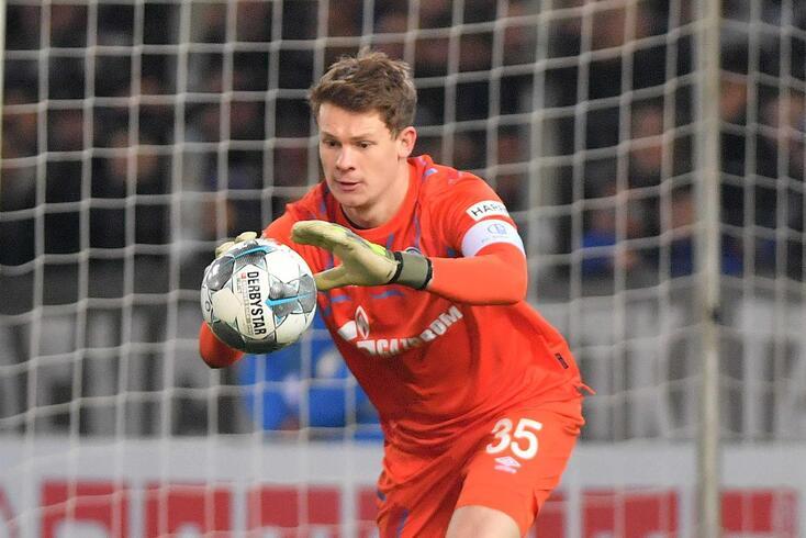 Alexander Nubel é reforço para o Bayern.