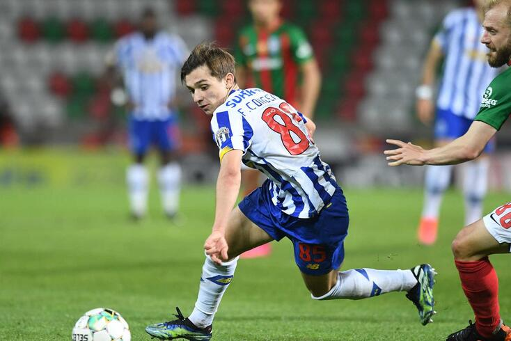 Francisco Conceição, jovem extremo do FC Porto