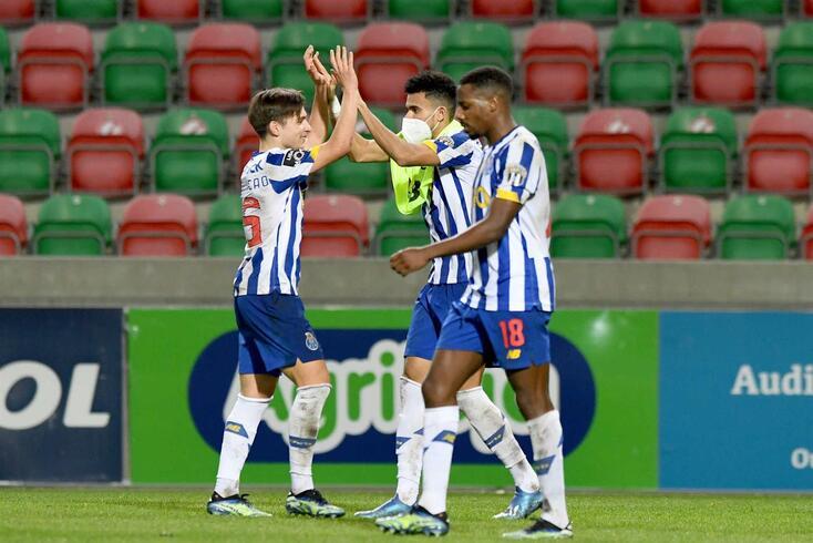 O um a um do FC Porto frente ao Marítimo