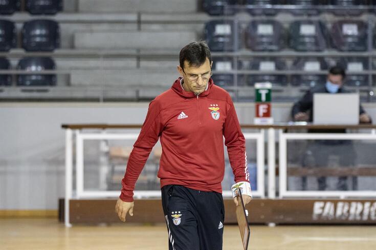 """Alejandro Dominguez e a Liga Europeia: """" Tenho uma fé tremenda na nossa equipa"""""""