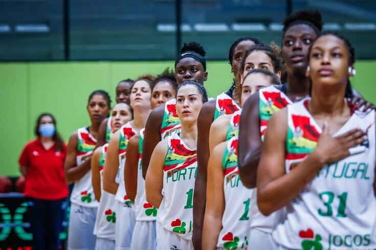 Portugal perde com Ucrânia e falha apuramento para o Europeu feminino de basquetebol
