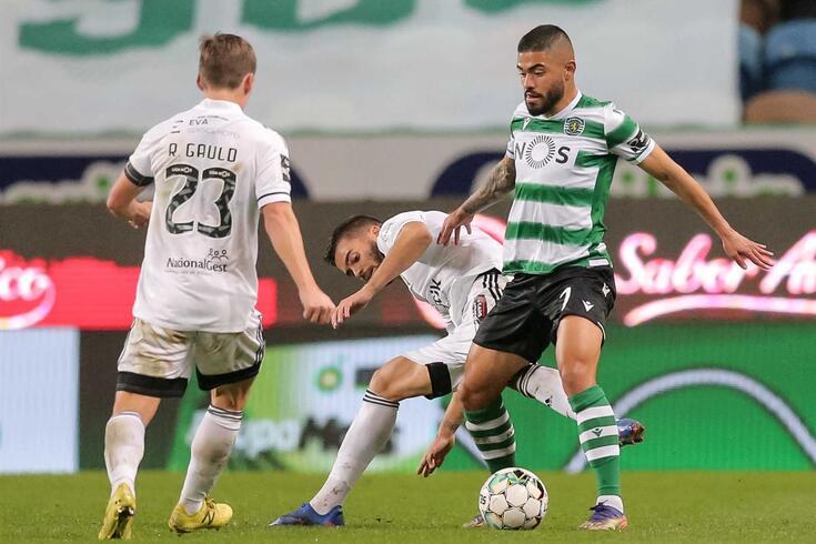Bruno Tabata, extremo do Sporting