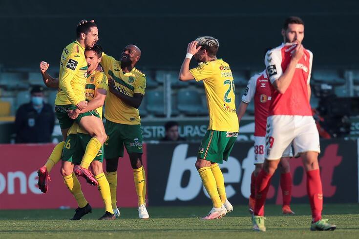 Paços de Ferreira venceu o Braga