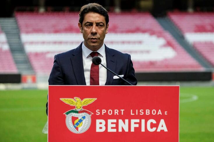 Rui Costa assumiu as funções de presidente do Benfica