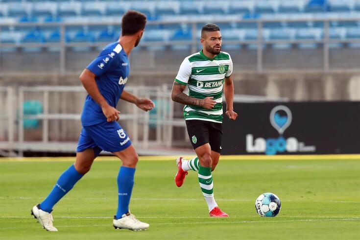Bruno Tabata tem dado cartas no meio-campo do Sporting