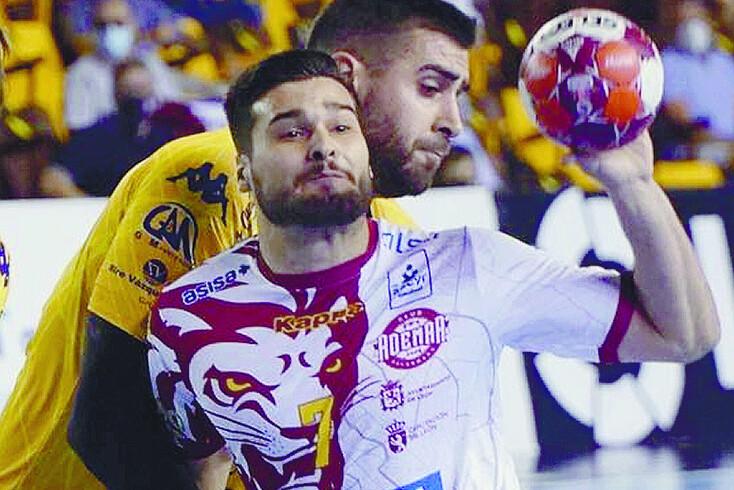 Natan Suárez, espanhol pretendido pelo andebol do Sporting