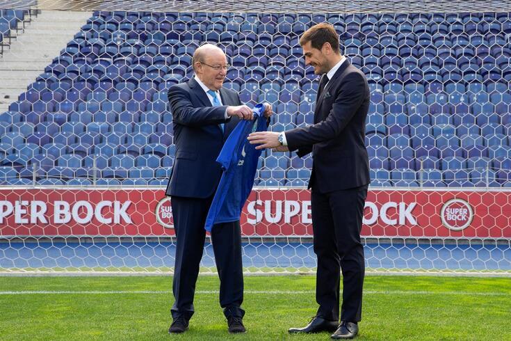 Pinto da Costa recordou passagem de Casillas pelo FC Porto