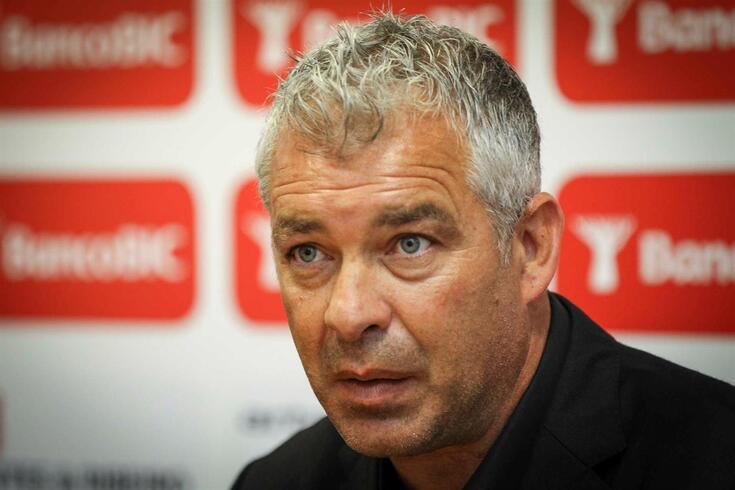 Jorge Costa, o novo treinador do Gaz Metan