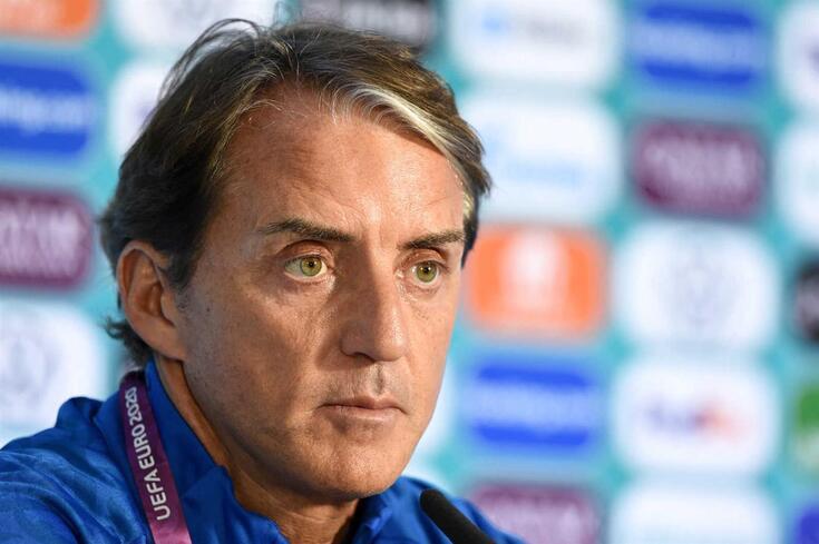 Roberto Mancini, selecionador italiano