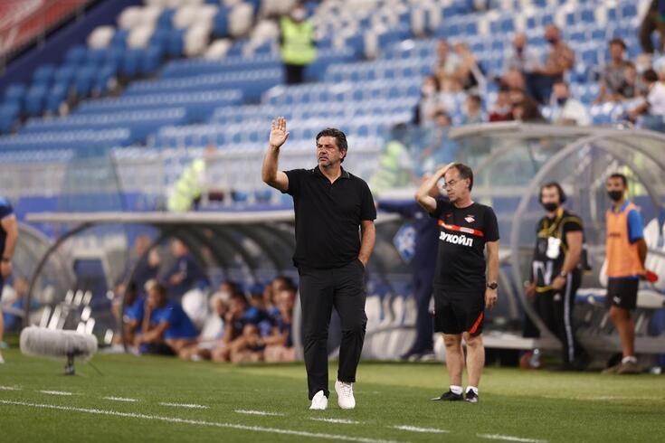 Rui Vitória, treinador do Spartak Moscovo