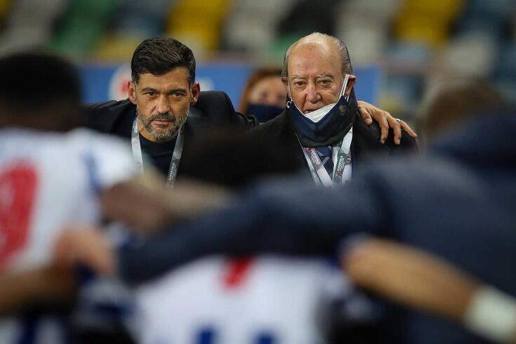 Sérgio Conceição com Pinto da Costa