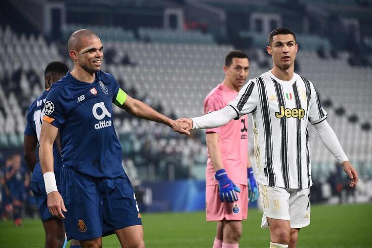 "FC Porto eliminou a Juventus nos ""oitavos"" da Champions"
