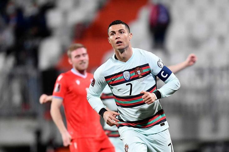 Cristiano Ronaldo, capitão da Seleção Nacional