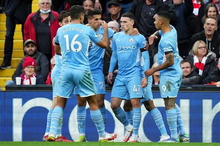 Phil Foden é uma das figuras do Manchester City