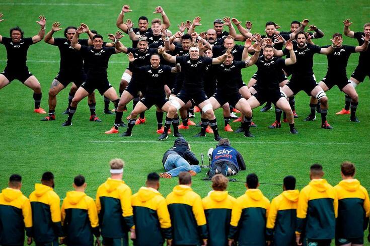 Nova Zelândia e Austrália defrontaram-se este domingo