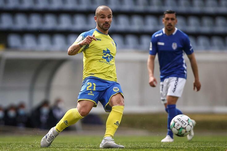 Leandro Silva, médio que assina pelo Arouca a título definitivo