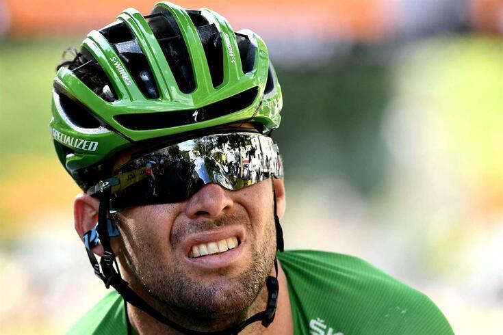 O ciclista britânico Mark Cavendish