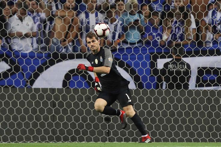 Iker Casillas terminou contrato com o FC Porto a 30 de junho