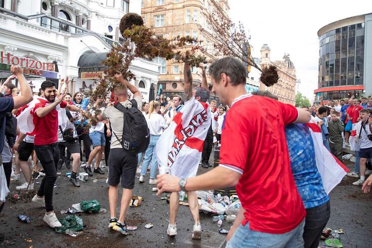 Final do Euro'2020 esteve em risco, revela polícia inglesa