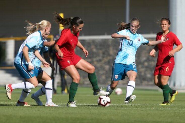 Duelo intenso entre Portugal e Noruega
