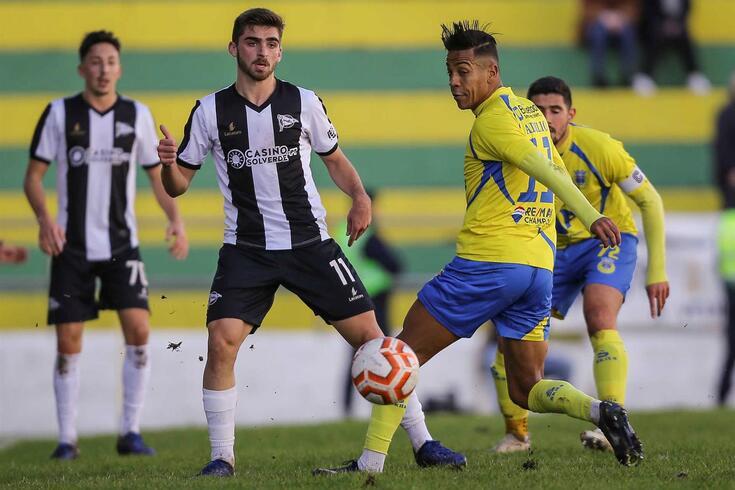 Santa Maria da Feira, 23/11/2019 - O Sporting Clube de Espinho recebeu esta tarde o Futebol Clube de