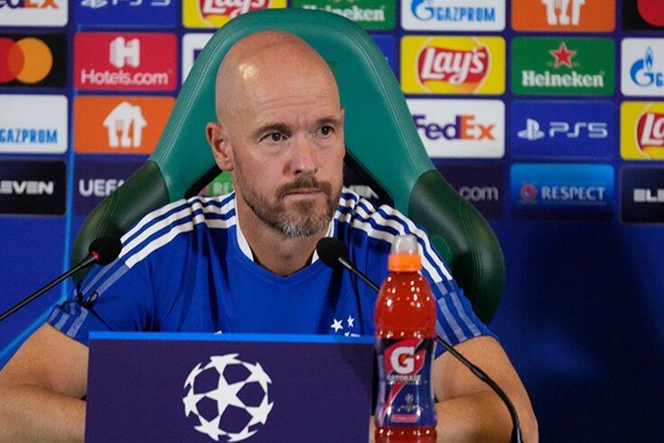 Erik ten Hag, treinador do Ajax