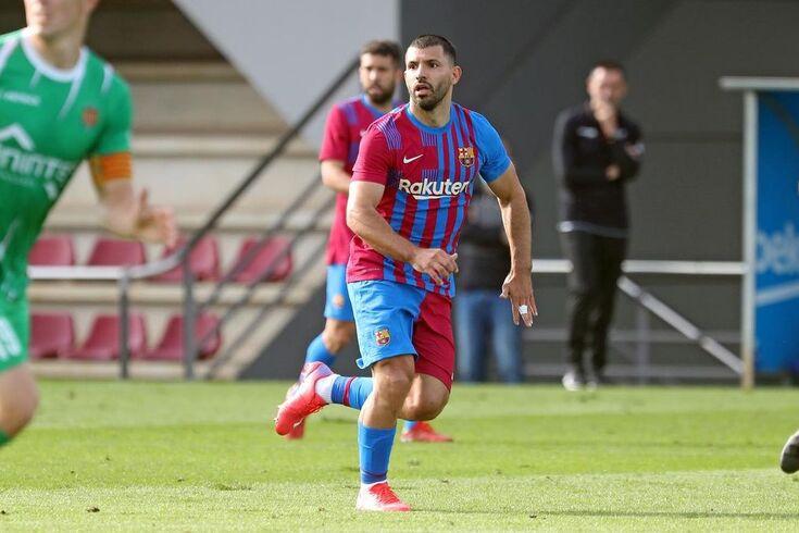 Sergio Aguero, jogador do Barcelona