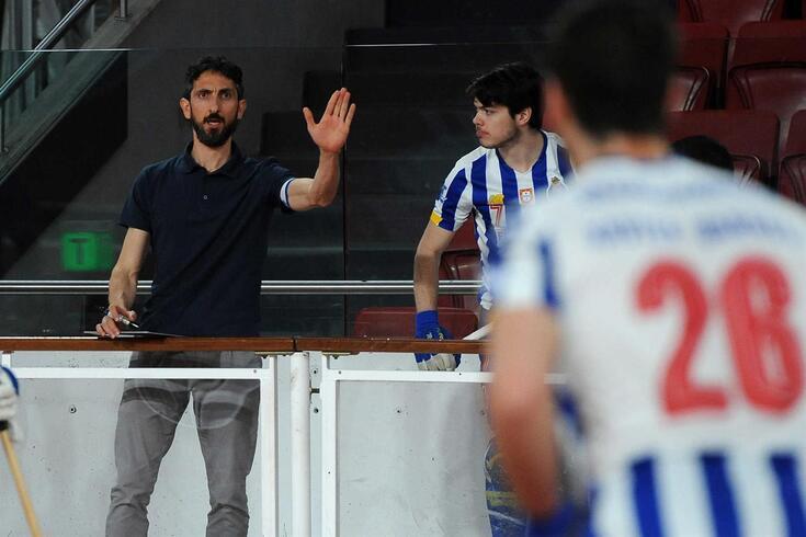 Guillem Cabestany, treinador de hóquei em patins do FC Porto