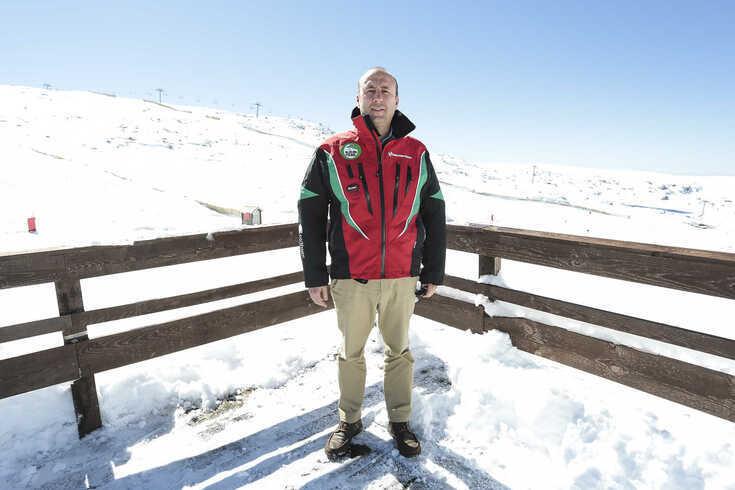 Pedro Farromba, presidente da Federação de Desportos de Inverno de Portugal