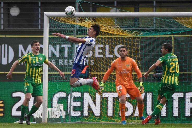 FC Porto venceu em Tondela