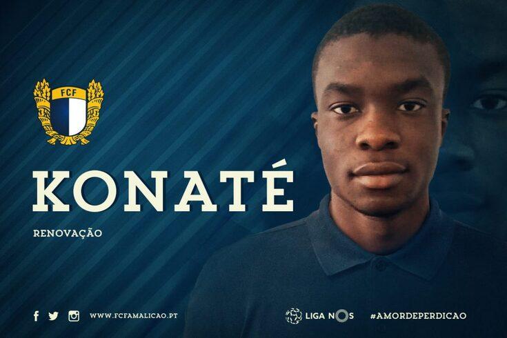 Konaté é uma grande esperança do Famalicão