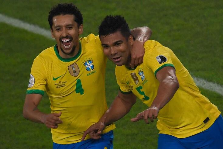 Brasil bateu a Colômbia por 2-1 na Copa América