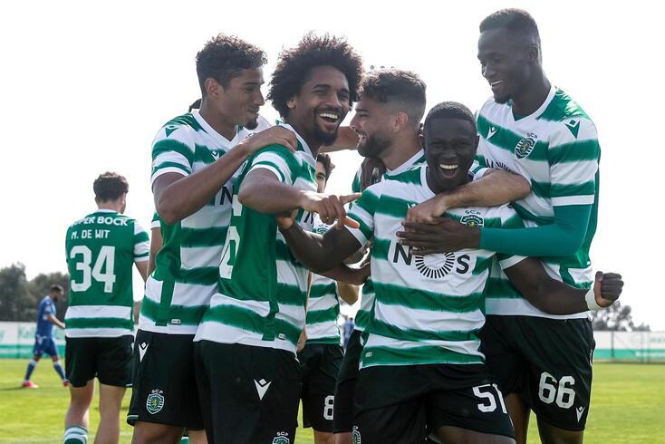Sporting B venceu por 4-0