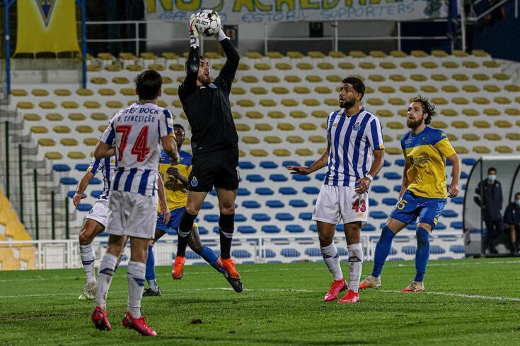 Cláudio Ramos jogou esta época apenas pela equipa B, frente ao Estoril