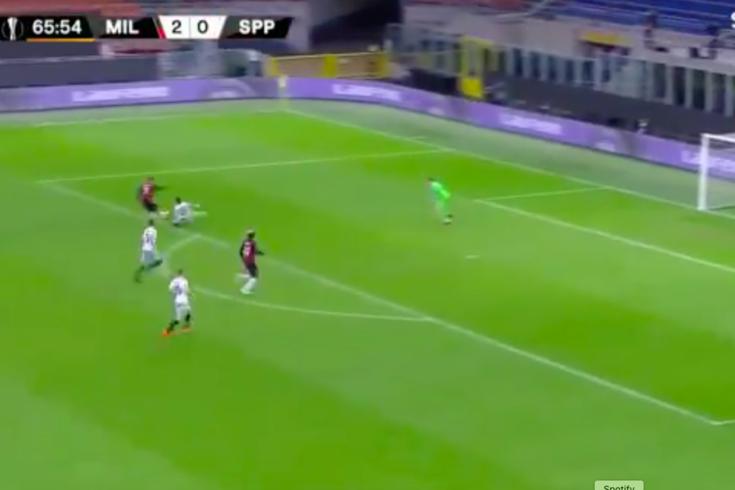 Diogo Dalot estreou-se a marcar pelo Milan
