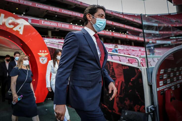 Rui Costa assumiu a presidência do Benfica
