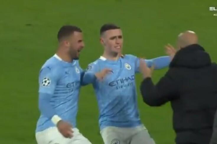 Um canto bem estudado instala a loucura no Manchester City em Dortmund