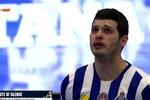 A sentida homenagem a Quintana antes do jogo entre Elverum e FC Porto