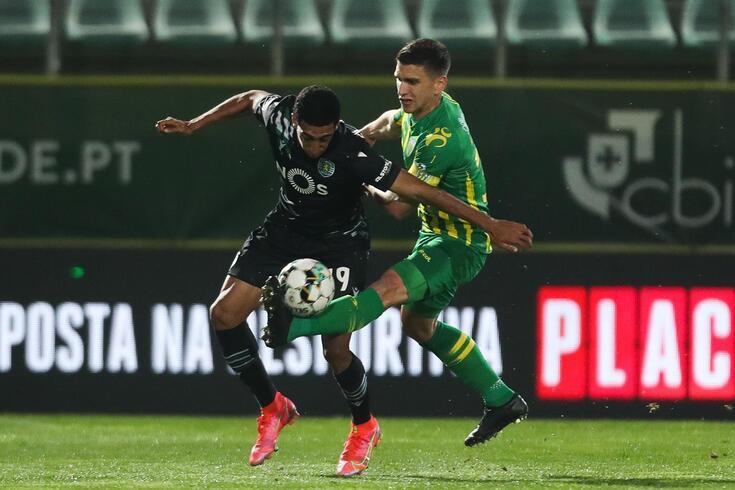 Ricardo Alves com Tiago Tomás