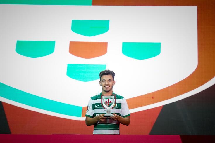 Pedro Gonçalves foi eleito o melhor jogador da Supertaça