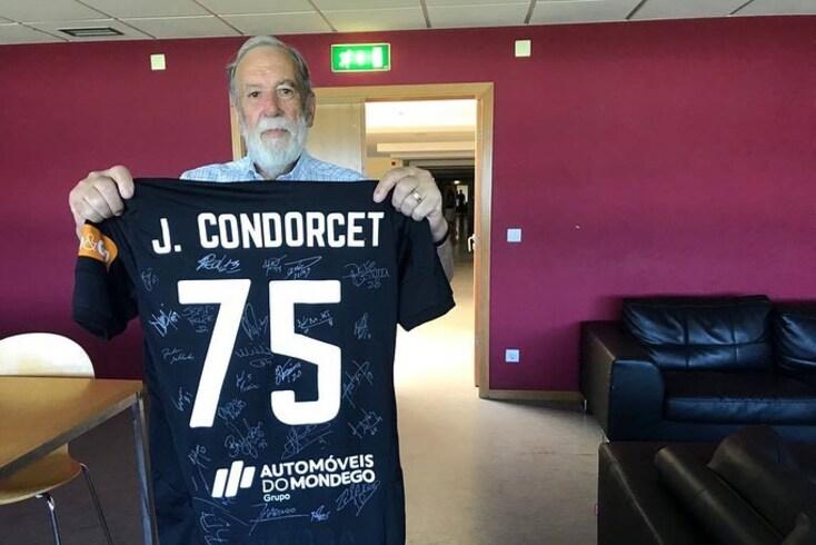 Condorcet, sócio número 1 da Académica, era uma figura ilustre do clube de Coimbra