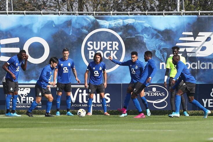 FC Porto realizou mais um treino de preparação para o duelo com o Coimbrões.