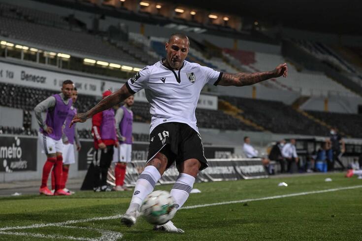 Ricardo Quaresma, internacional português do V. Guimarães